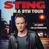 Personal für Sting gesucht @Samsung Hall