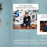 Cateringhilfe für Tim Bendzko + Band live @ Halle 622 Zürich gesucht